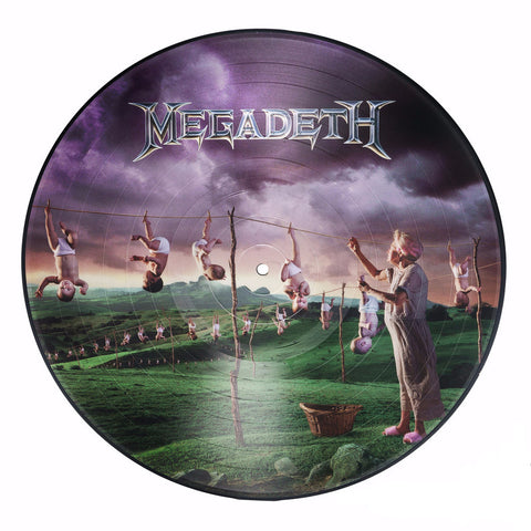 Megadeth | Youthanasia | Limited Edition Picture Disc Vinyl LP