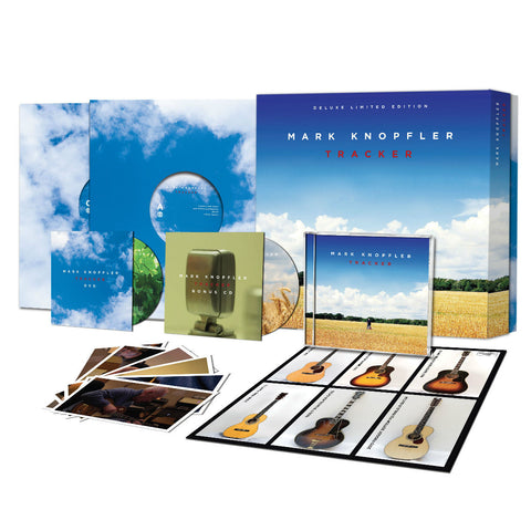 Mark Knopfler | Tracker  | 2 CD/ 2 Vinyl LP/DVD Box Set