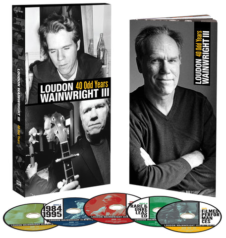 Loudon Wainwright III | 40 Odd Years | CD Set