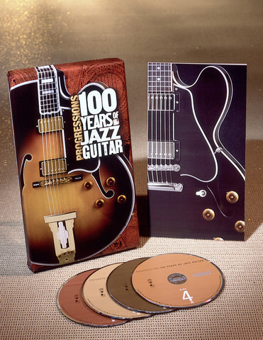 Various Artists | Progressions: 100 Years of Jazz Guitar | CD Set