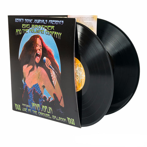 Big Brother & The Holding Company feat. Janis Joplin | Live At The Carousel Ballroom 1968  | 180g Vinyl 2LP