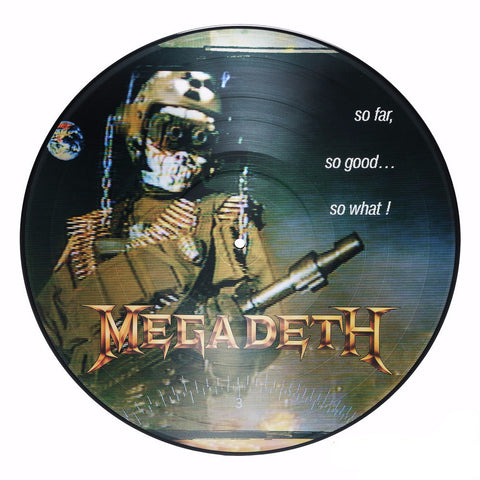 Megadeth | So Far, So Good... So What! | Limited Edition 180g Picture Disc LP