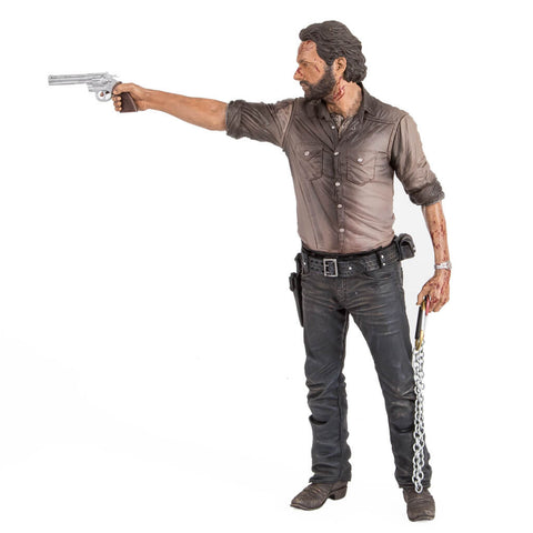 "The Walking Dead | Rick Grimes 10"" (25cm) Deluxe Vigilante Figure"