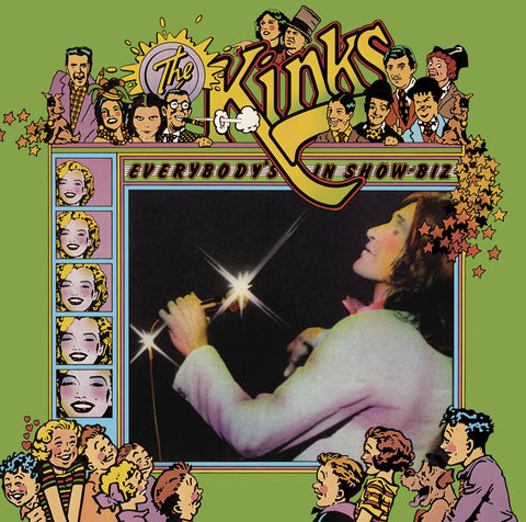 The Kinks | Everybody's in Show-Biz | 180g Vinyl 3LP