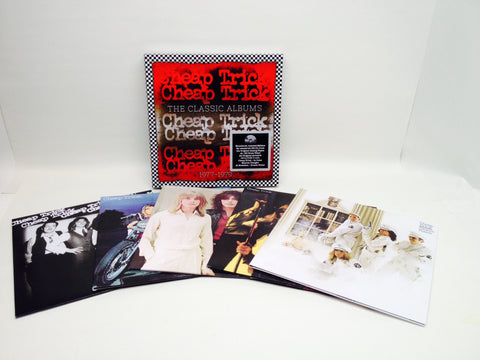 Cheap Trick | The Classic Albums 1977-1979  | Vinyl LP Box Set