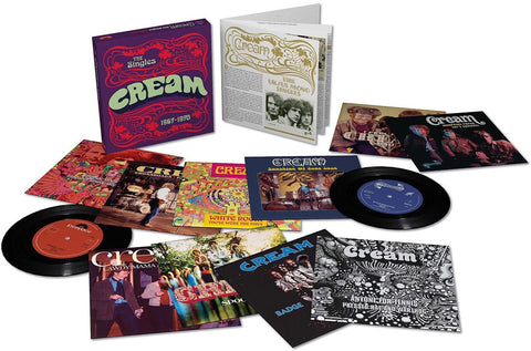 "Cream | The Singles | 45RPM 7"" Singles Vinyl Box Set"