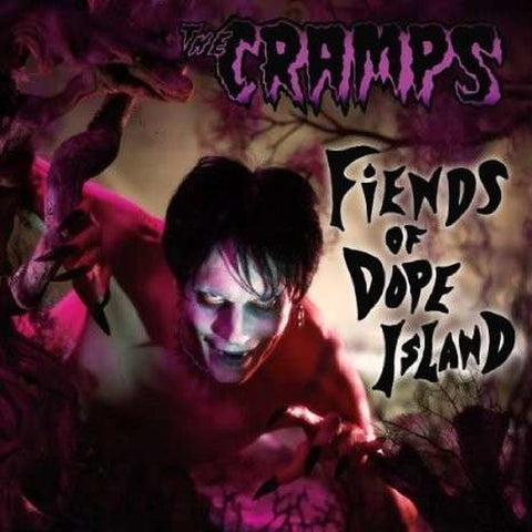 The Cramps | Fiends of Dope Island | Limited Edition 180g Colored Vinyl LP