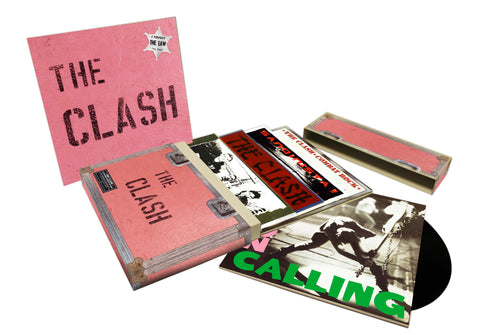The Clash | 5 Studio Album CD Set | CD Set