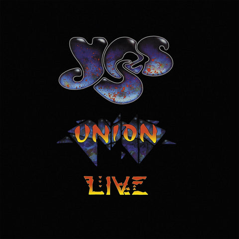 Yes | Union Live | Limited Edition - Red, White & Blue Colored 180g Vinyl 3LP