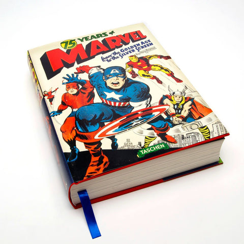 Stan Lee | 75 Years of Marvel Comics: From the Golden Age to the Silver Screen | Signed Book