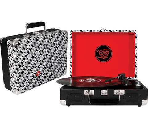 Vinyl Styl | Groove Portable Turntable (Records)