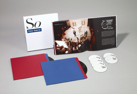 Peter Gabriel | So (25th Anniversary Deluxe Edition) | CD Box Set
