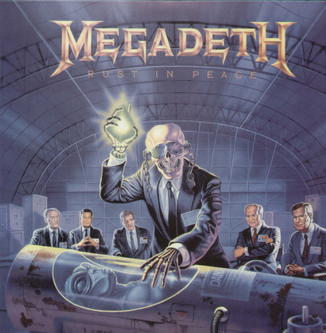 Megadeth | Rust in Peace | 180g Vinyl LP (Limited Edition)