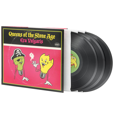 "Queens of the Stone Age | Era Vulgaris | 10"" Vinyl 3LP"