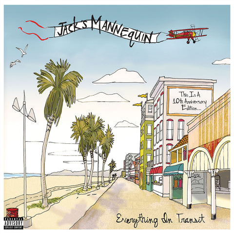 Jack's Mannequin | Everything in Transit | Vinyl LP