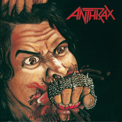 "Anthrax | Fistful of Metal | Red and Clear Colored 10"" Vinyl 3LP Set"