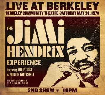 Jimi Hendrix | Live at Berkeley | 180g Vinyl 2LP [Holland Import]