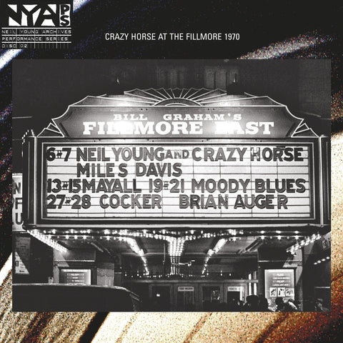 Neil Young and Crazy Horse | Live at the Fillmore East | 180g Vinyl LP