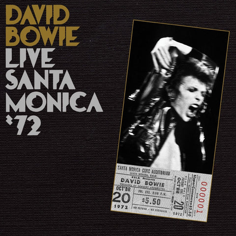 David Bowie | Live Santa Monica '72 | Limited Edition 180g Vinyl 2LP