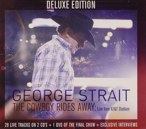 George Strait | The Cowboy Rides: Live From AT&T Stadium | Deluxe Edition 2CD/DVD