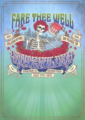 Grateful Dead | Fare Thee Well (July 5th)  | 3CD/2DVD