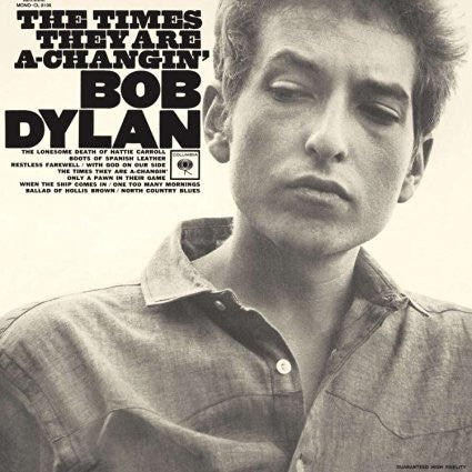 Bob Dylan | The Times They Are a-Changin' | 180g Vinyl LP [Import]