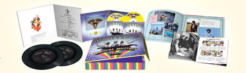 "The Beatles | Magical Mystery Tour | Deluxe Edition Collector's Set (DVD/Blu-ray/7"" Vinyl Single)"