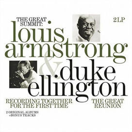 Louis Armstrong & Duke Ellington| Great Summit: Recording Together For The First Time | Vinyl 2LP