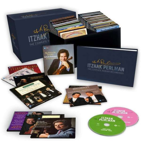 Itzhak Perlman | Itzahk Perlman - The Complete Warner Recordings  | 77 CD Box Set