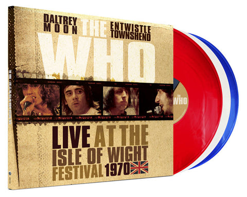 The Who | Live at the Isle of Wight Festival 1970 | Limited Edition Colored Vinyl 3LP