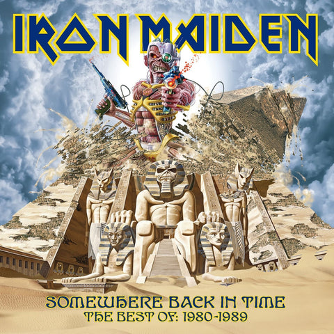 Iron Maiden | Somewhere Back in Time | 180g Vinyl 2LP [Import] [Picture Disc]
