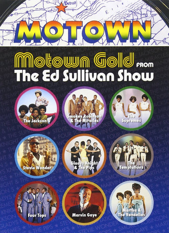 Various Artists | Motown Gold From The Ed Sullivan Show | DVD