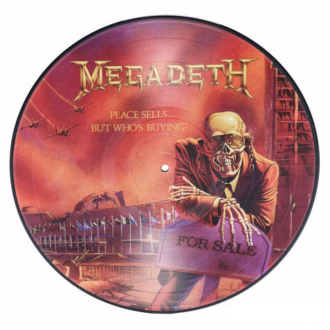 Megadeth | Peace Sells... But Who's Buying? | Limited Edition 180g Picture Disc LP