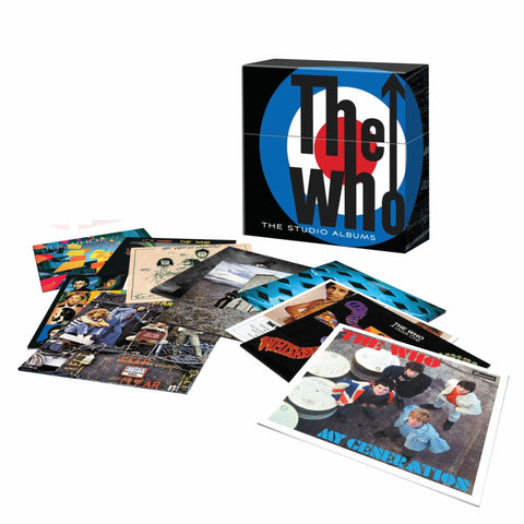 The Who | The Studio Albums | Limited Edition 180g Vinyl 14 LP Box Set