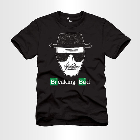 Black Heisenberg Sketch T-Shirt