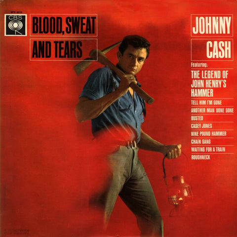 Johnny Cash | Blood, Sweat and Tears | 180g Vinyl LP