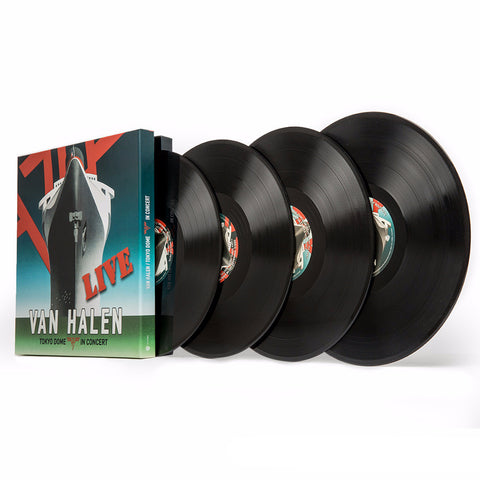 Van Halen | Tokyo Dome Live in Concert | Limited Edition 4LP 180g Vinyl Box Set