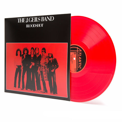 The J. Geils Band | Bloodshot | Colored Red Vinyl LP