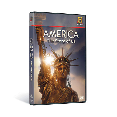 History Store | America: The Story of Us | DVD