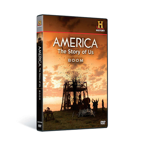 History Store | America: The Story of Us (Volume 4: Boom) | DVD