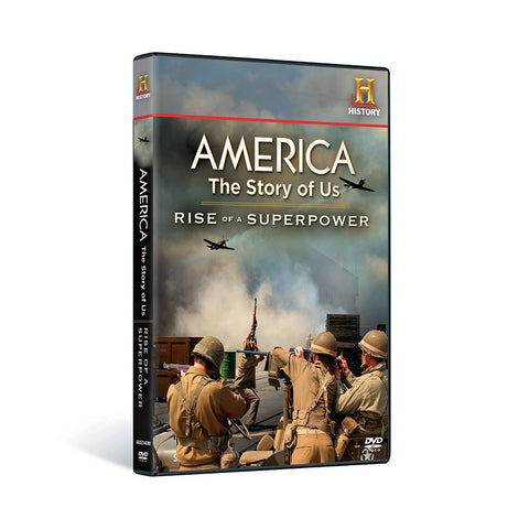History Store | America: The Story of Us (Volume 5: Rise of a Superpower) | DVD