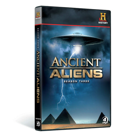 History Store | Ancient Aliens (Season 3) | DVD