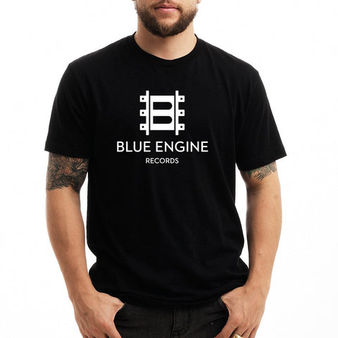 Jazz at Lincoln Center | Blue Engine Records Logo | T-shirt - Black