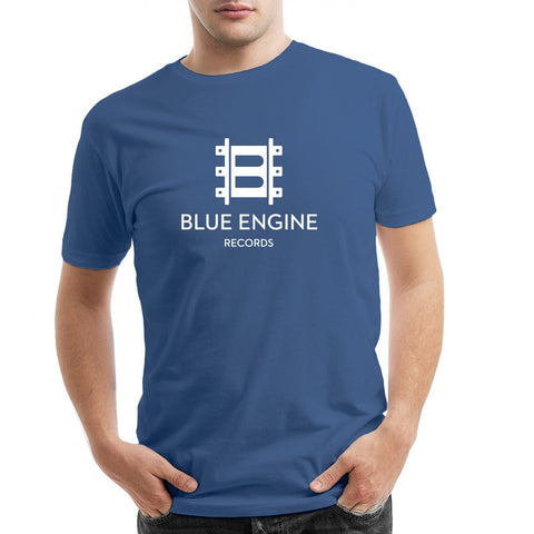 Jazz at Lincoln Center | Blue Engine Records Logo | T-shirt - Blue