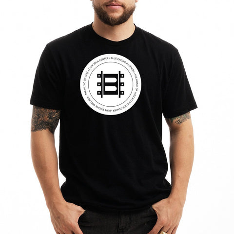 Jazz at Lincoln Center | Blue Engine Records Seal | T-shirt - Black