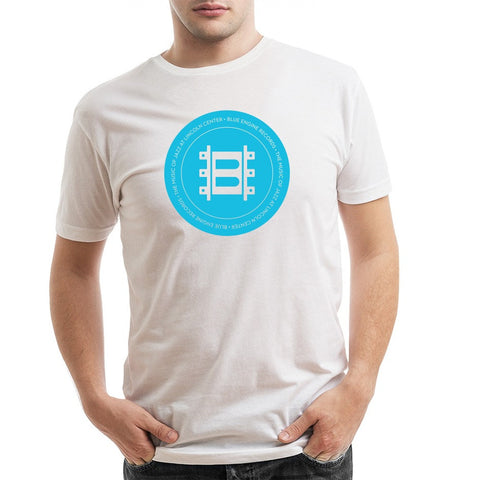 Jazz at Lincoln Center | Blue Engine Records Seal | T-shirt - White