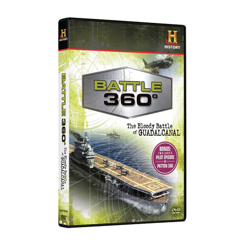 History Store | Battle 360°: The Bloody Battle of Guadalcanal | DVD