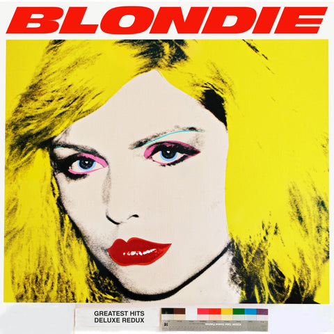 Blondie | Greatest Hits Deluxe Redux (Blondie 4(0) Ever) and Ghosts of Download (Deluxe Edition) | 180g Vinyl LP (Colored Vinyl; Bonus DVD & Poster)