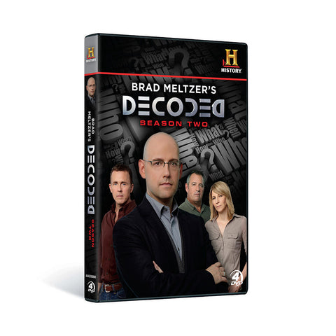 History Store | Brad Meltzer's Decoded (Season 2) | DVD