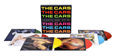 The Cars | The Elektra Years: 1978 - 1987 | Colored 180g Vinyl 6LP Box Set